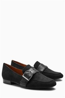 Buckle Slippers