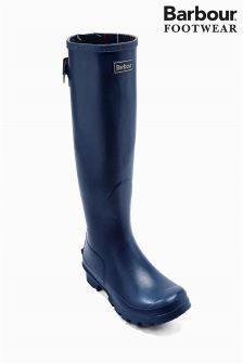 Navy Barbour® Tall Wellington Boot