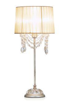 Anastasia Voile Draped Bead Table Lamp
