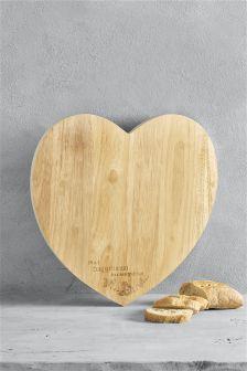Large Heart Chopping Board