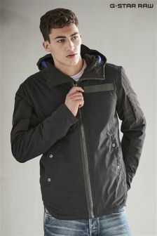 G-Star Black Hooded Jacket
