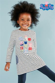 Navy Peppa Pig™ Tunic (3mths-6yrs)