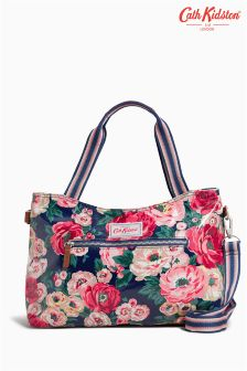 Cath Kidston Navy Worth Bunch Floral Handbag