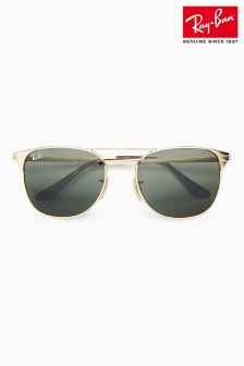 Ray-Ban® Gold Green G15 Classic Signet Sunglasses