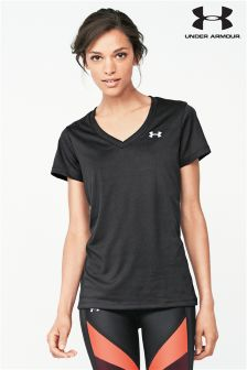 Black Under Armour Gym Tech T-Shirt