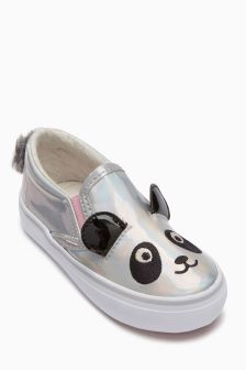 Panda Skate Shoes (Younger Girls)