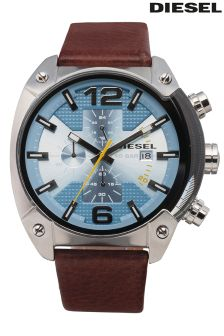 Diesel® Overflow Blue Dial Watch