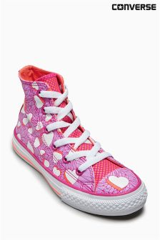 Converse Pink Chuck Taylor All Star Valentines Messages Hi
