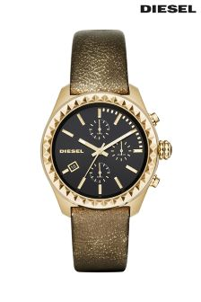 Gold Diesel® Kray Kray 38 Watch