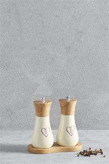 Love Salt & Pepper Grinder Set