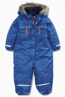 Blue Techincal Snowsuit (3mths-6yrs)