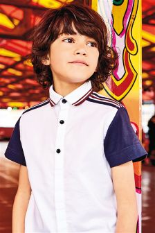 Short Sleeve Smart Sporty Shirt (3-16yrs)