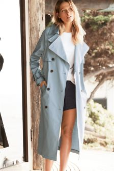 Oversized Trench Jacket