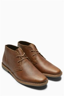 Leather Desert Boot