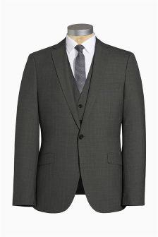Textured Slim Fit Suit