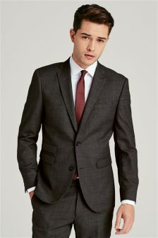 Buy Men's suits Grey Wool Blend Woolblend from the Next UK online shop
