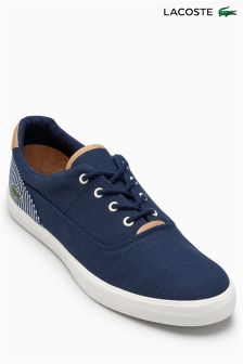 Lacoste® Navy Jouer Oxford Lace Pump