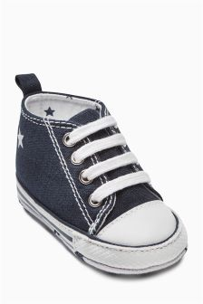 Lace-Up Pram Boots (Younger Boys)