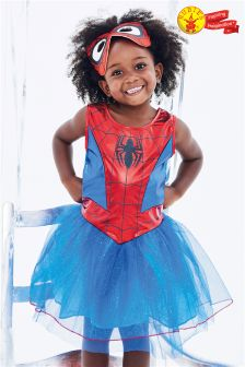 Rubies Blue Spider-Girl Fancy Dress Costume