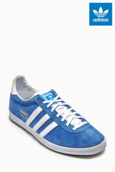 Blue adidas Originals Gazelle OG