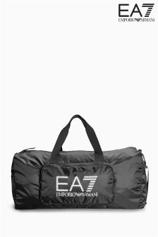 Emporio Armani EA7 Black Gym Bag