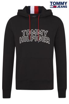 Tommy Jeans Black Logo Hoody