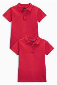 Poloshirts Two Pack (3-16yrs)
