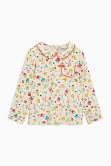 Character Print Blouse (3mths-6yrs)