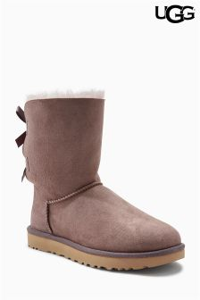 Ugg® Grey Bailey Bow Short Boot