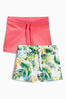 Multi Shorts Two Pack (3-16yrs)