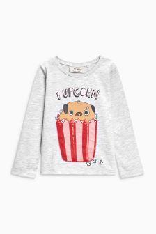 Pupcorn T-Shirt (3mths-6yrs)