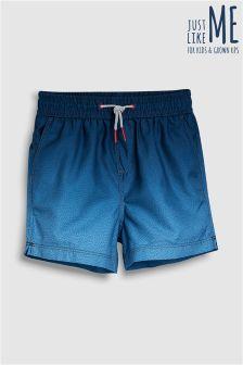 Ombre Print Swim Shorts (3mths-16yrs)