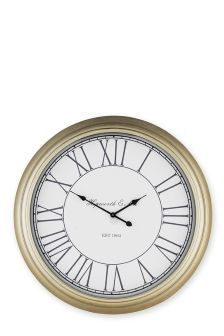 Extra Large Champagne Wall Clock
