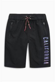 California Print Swim Shorts (3-16yrs)