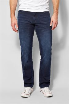 Ink Wash Jeans With Stretch