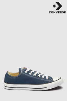 Navy Converse Chuck Taylor All Stars Ox