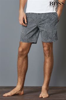 Boss Hugo Boss Grey Lounge Printed Short