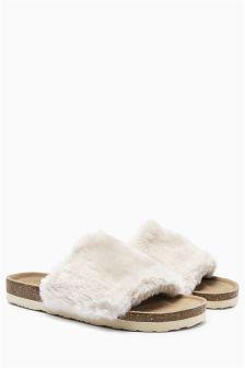 Footbed Slider Slippers