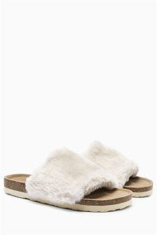 Footbed Slider Slippers