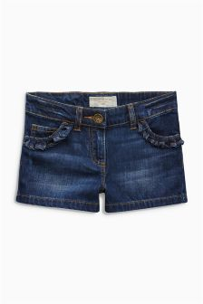 Ruffle Pocket Shorts (3-16yrs)