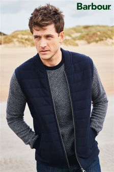 Barbour® Navy Calvay Crew Knit Jumper