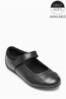 Black Mary Jane Shoes (Older Girls)