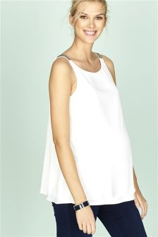 Maternity Shell Top