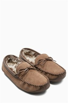 Signature Perforated Lace Moccasin