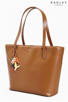 Radley® Tan De Beauvoir Large Zip Top Tote