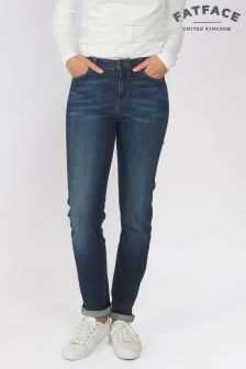 Fat Face Denim Ink Blue Slim Jean