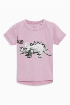 Short Sleeve Photographic Dinosaur T-Shirt (3mths-6yrs)