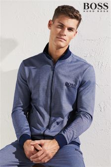 Boss Navy Tracksuit Zip Jacket