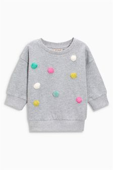 Pom Pom Sweater (3mths-6yrs)
