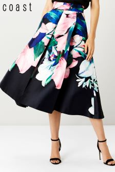 Coast Multi Brazil Full Print Skirt